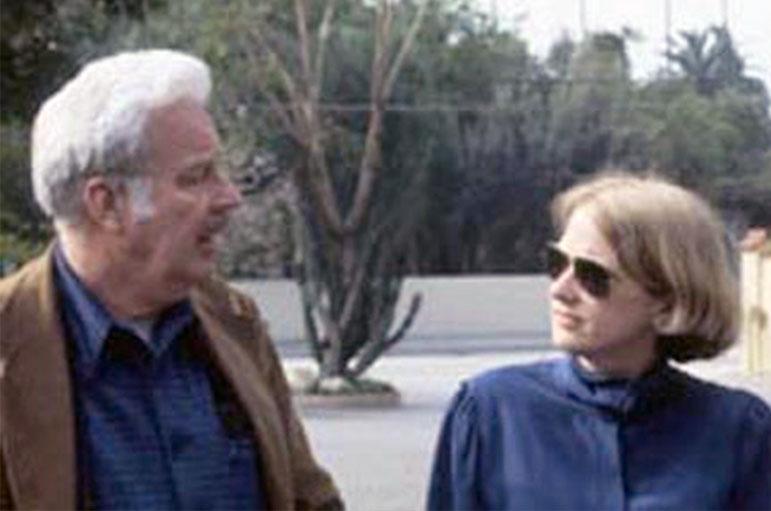 Norman Neuerburg and Edna Kimbro