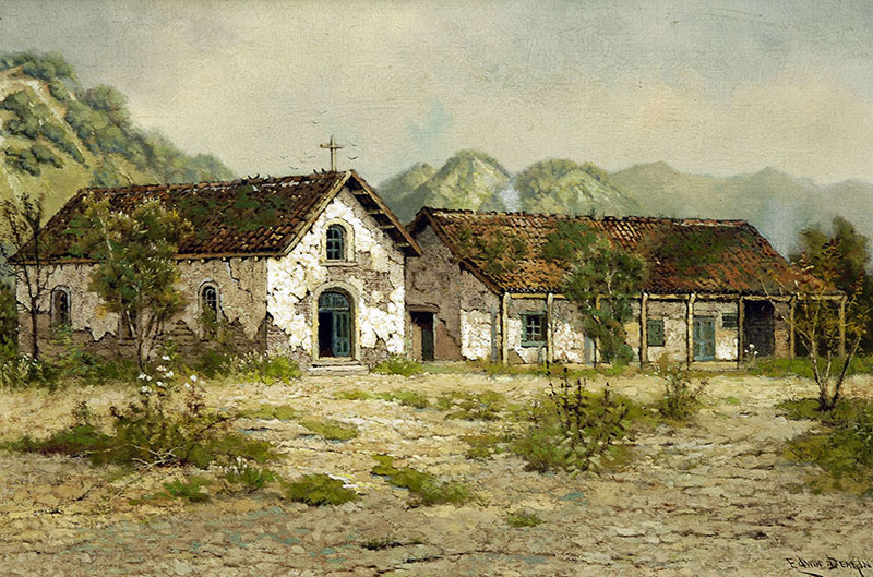 Mission San Francisco Solano. Image courtesy Santa Barbara Mission Archive-Library.