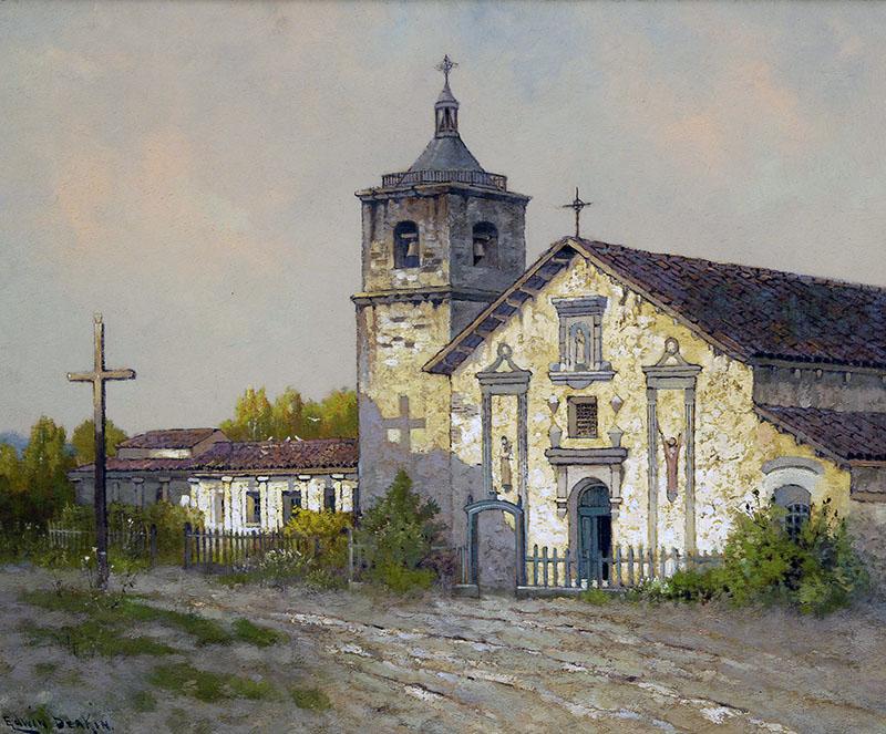 Mission Santa Clara. Courtesy of Santa Barbara Mission Archive-Library.